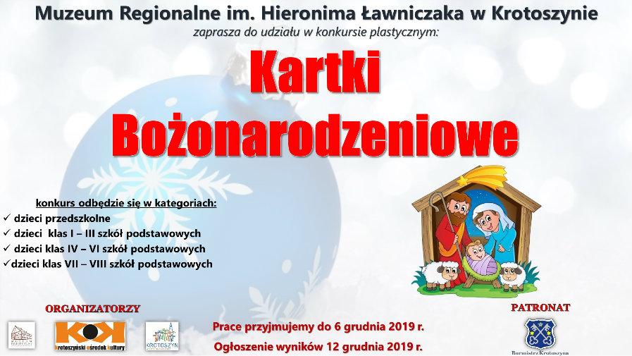 """Konkurs plastyczny: """"Kartka Bożonarodzeniowa"""""""